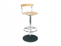 Bistro hocker chrome
